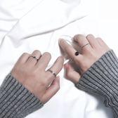 日韓簡約關節戒指組合潮人飾品開口尾戒指環對戒女復古配飾J020 满398元85折限時爆殺