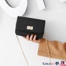 熱賣鍊條包 包包2021韓版新款鍊條小方包側背斜背包時尚網紅女包迷你小包 coco