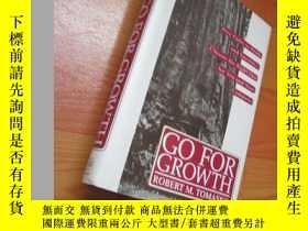 二手書博民逛書店Go罕見For Growth: Five Paths To Pr