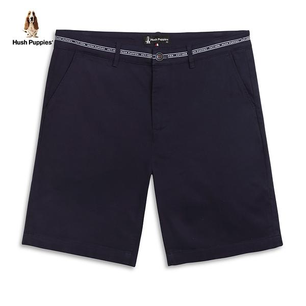 Hush Puppies 短褲 男裝素色品牌織帶短褲