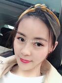 洗臉發帶韓國網紅頭飾寬邊甜美個性超仙森女繫歐美防滑發箍  瑪奇哈朵