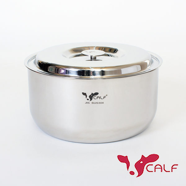【火鍋季 】牛頭牌 新小牛料理鍋20cm-304不鏽鋼湯鍋電鍋內鍋 耐酸鹼抗氧化導熱快