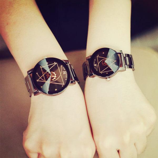 【原創館】防水手錶  鋼帶 男女手表