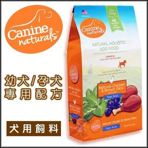 *KING WANG*美國Canine naturals科納丘天然寵物食品》狗糧 幼犬/懷孕母犬專用配方4磅