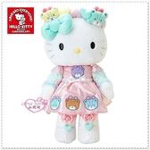 小花花日本精品 Hello Kitty 絨毛 娃娃布偶 HUG玩偶彩色熊 粉50054602