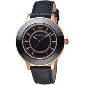 SWAROVSKI施華洛世奇Octea Lux現代時尚腕錶  5414410 黑