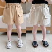 棉小班童裝男童短褲夏裝新款韓版薄款外穿休閒褲兒童洋氣褲子 格蘭小舖