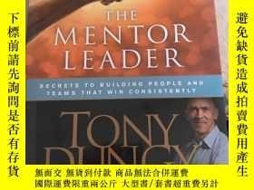 二手書博民逛書店Mentor罕見Leader導師領導Y25607 Tony Dungy 著 Tyndale House Pu