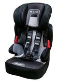 [ 家事達 ] 法國原裝 納尼亞NANIA  成長型汽車安全座椅-黑色