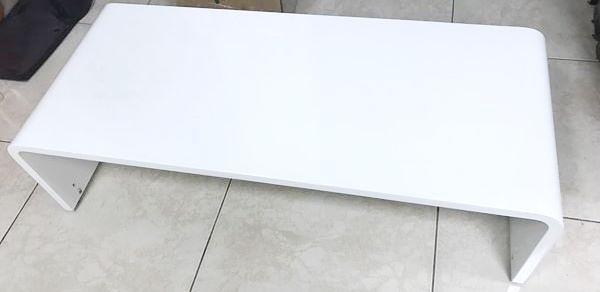 《展示品特賣》展藝客製化商品ZY-774 曲木鋼琴烤漆ㄇ字型音響架 (約9成新,有些微使用痕跡)