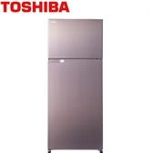 TOSHIBA 東芝 GR-H55TBZ (N) 505L香檳金 變頻冰箱
