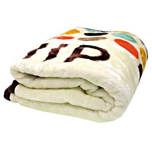 DISNEY 迪士尼奇奇蒂蒂成人用單人毛毯L(趣味核桃帽)★funbox★丸真_RS65844