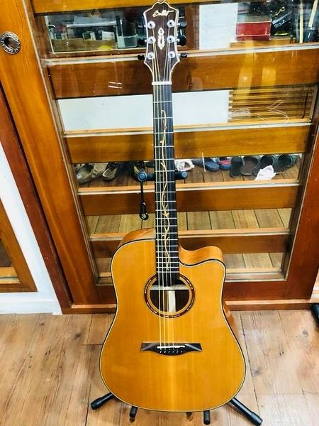 凱傑樂器 BUFFET BLT-416C 面單板 缺角 民謠吉他 木吉他 41吋