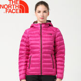 【The North Face 女款 700fp羽絨外套《紫紅》】0CTW0146/澎羽絨/防潑水★滿額送