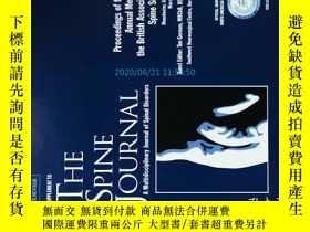 二手書博民逛書店The罕見Spine Journal 03 2017 脊柱醫學學術期刊考研論文資料 Y14610