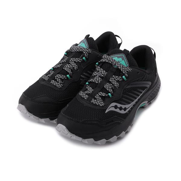 SAUCONY EXCURSION TR15 GORE-TEX D寬楦低海拔越野跑鞋 黑 SCS10673-1 女鞋