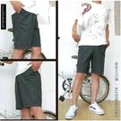 【大盤大】(A069) 男 休閒褲 夏季短褲 M-3XL 五分褲 素面 透氣 口袋 工作褲 顯瘦 寬鬆 大尺碼潮褲