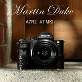 Martin Duke意大利牛皮索尼A7M2相機包 A7ii手柄A7R2真皮套保護套   ATF  『魔法鞋櫃』