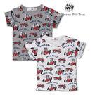 小童 圖案短袖棉T材質:棉65% 聚酯纖維35%產地:中國(台商中國廠)