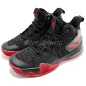 adidas 籃球鞋 Explosive Flash K 黑 紅 高筒 女鞋 大童鞋 基本款 運動鞋【PUMP306】 AQ0525