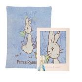 奇哥比得兔雙層柔舒毯禮盒 (PLB98000B藍) 1185元(禮盒+附奇哥提袋)
