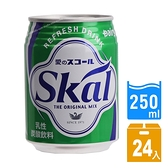 [整箱不用搬]日本進口 南日本酪農 Skal 碳酸飲料250ml(24罐/箱)