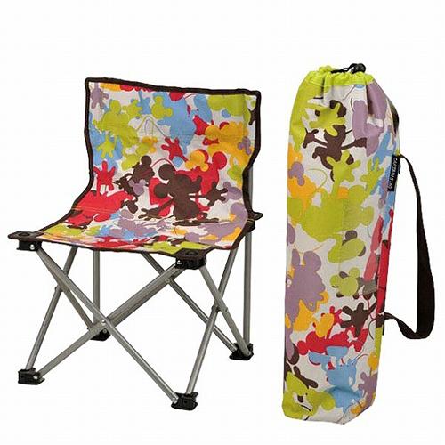 BabyPark 日本鹿牌Captain Stag 迪士尼聯名款 米奇折疊野餐椅 露營椅 Disney