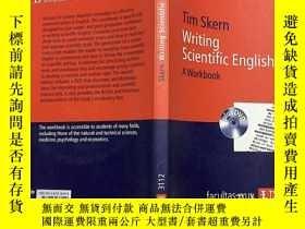 二手書博民逛書店Writing罕見Scientific English A Workbook 寫科學英語練習冊 帶光盤Y232