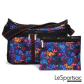 LeSportsac - Standard雙口袋A4大書包-附化妝包 (愛麗絲花園) 7507P F033