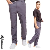 【南紡購物中心】【戶外趣】男款多口袋防潑水透氣排汗輕彈防曬長褲 (HPM017)