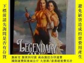 二手書博民逛書店英文原版罕見Legendary Warrior by Donna