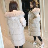 羽絨棉服外套女冬面包服棉襖韓版加厚中長過膝bf棉衣 港仔會社