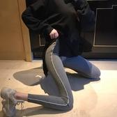窄管褲 外穿針織打底褲緊身高腰褲子小腳褲運動九分褲女裝