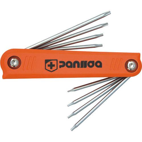 Panssda百事達 8件式折疊內六角扳手-星形中空扳手組/星型中空扳手組