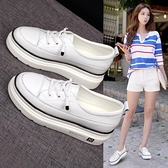 增高鞋 小白鞋子女內增高2021夏季新款休閒女鞋鬆糕鞋網紅百搭厚底板鞋潮 喜迎新春