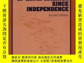 二手書博民逛書店The罕見Economic History Of Latin America Since Independence