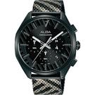 ALBA雅柏 限量東京街頭潮流計時腕錶 VD53-X374SD AT3H07X1