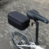 硬殼後駝包摺疊自行車後貨架包山地車馱包單車防水尾包騎行裝備包 米希美衣