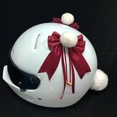 頭盔飾品 DOSEEI鈴鐺絨球貓耳朵頭盔裝飾品摩托車電動車騎士機車滑雪盔個性 夢藝家