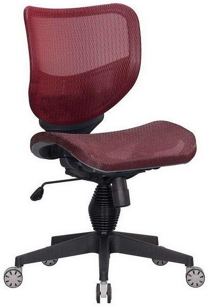 HP362-05 全網椅TS-080/紅網/氣壓+後仰