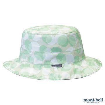 [好也戶外]mont-bell GTX PRINT大圓盤帽/薄荷綠 No.1128586