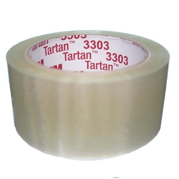 3M OPP膠帶 3303 透明包裝膠帶 寬48mm/一包6個入(定45) 48mm x 90M 封箱膠帶 封口膠帶 MIT製