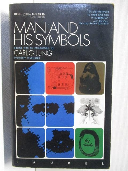 【書寶二手書T1/原文小說_BG9】Man and His Symbols