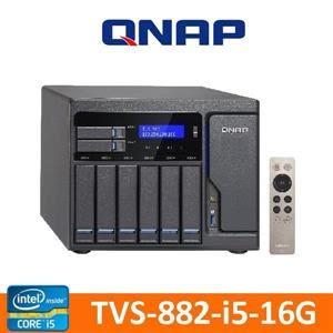 QNAP 威聯通 TVS-882-i5-16G NAS 網路儲存伺服器