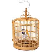 戶外木質大型鳥籠子竹制木制大號鳥籠雀籠XW