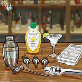 調酒工具調酒壺吧勺酒嘴酒杯冰塊模具榨汁器檸檬汁