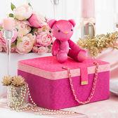 禮坊rivon-愛情旅行箱喜餅系列-Our Rococo粉紅洛可可IV雙層喜餅禮盒