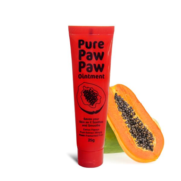 澳洲Pure Paw Paw神奇木瓜霜(原味)-25g (澳洲國民必備美妝聖品 舒緩 調理 修護 居家防護)正貨