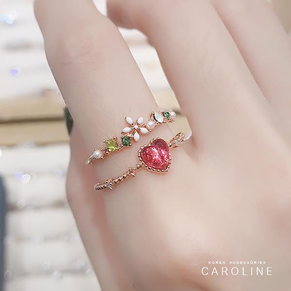 《Caroline》★韓國熱賣造型時尚 絢麗閃亮動人戒指71557