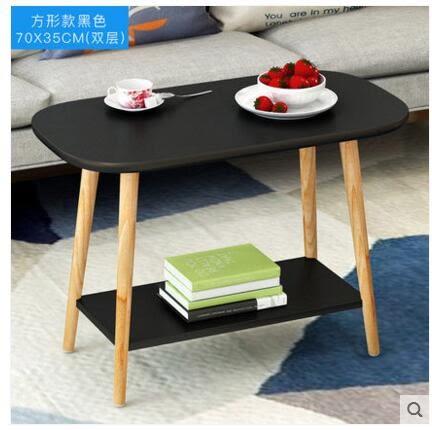 現代簡約邊幾迷你小茶几小方桌沙發邊桌北歐小桌子臥室角幾床頭桌